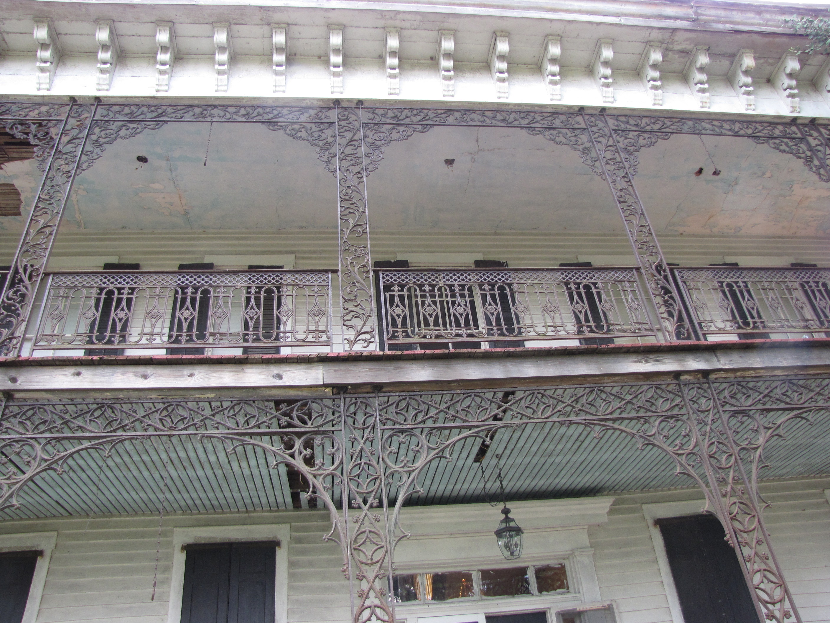 Corbels and iron work – it's all in the details baby!